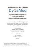 DynaMod: Dynamische Analyse für modellgetriebene Software-Modernisierung